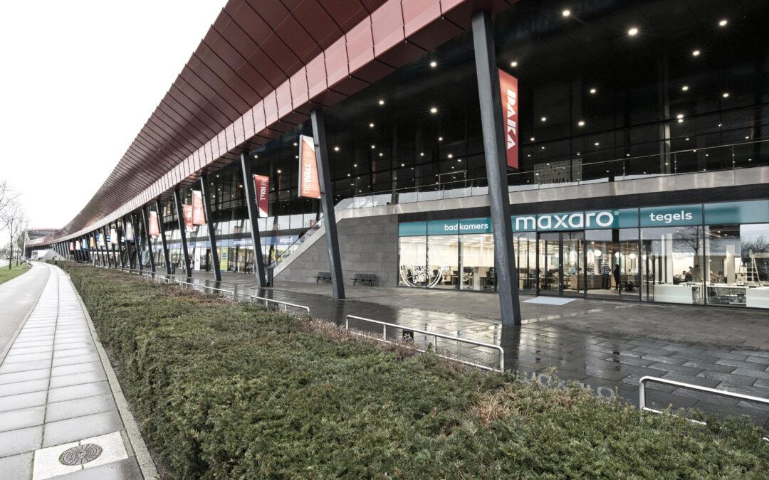 MAXARO nieuwe Mega showroom Utrecht